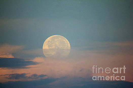 Moonset by Bob Hislop