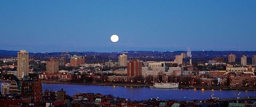 Moonset by Jim Madigan