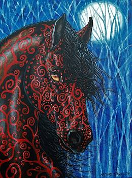 Moonsfyre Stallion of Nyteworld by Beth Clark-McDonal