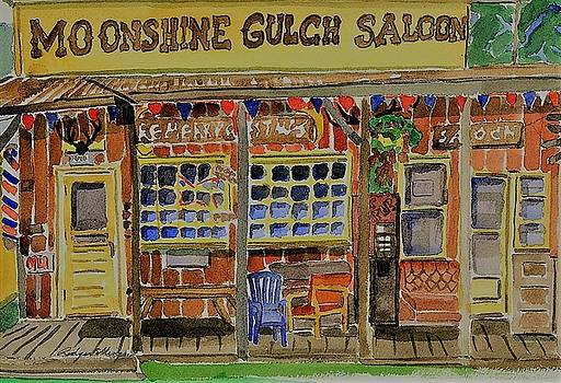 Moonshine Gulch by Rodger Ellingson