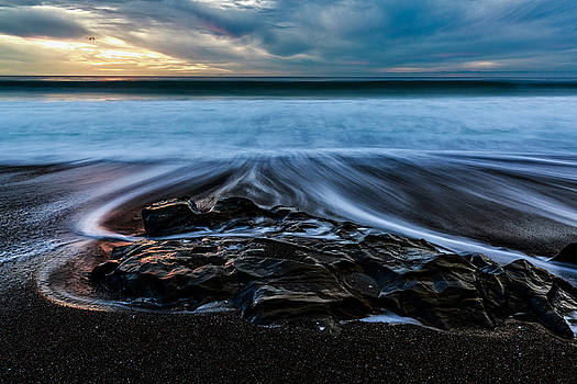 Moonstone Beach in the New Year by Jason Roberts