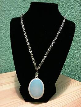 Moonstone Necklace by Kendell Tubbs