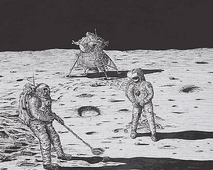 Moonwalk -1969 by Larry Oldham