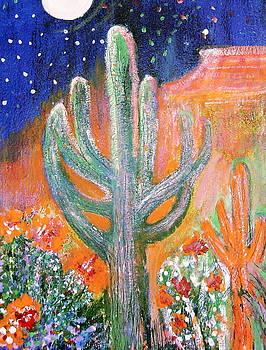Anne-Elizabeth Whiteway - MoonWatch over Desert at Night
