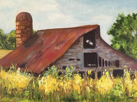 Mooresville N.C Barn by Gloria Smith