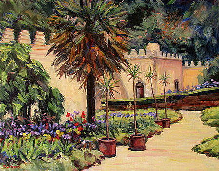 Moorish Garden by Robert Gerdes
