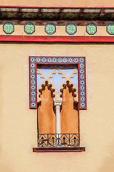 Moorish Window by David Letts