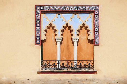 David Letts - Moorish Window II