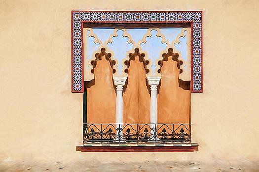 Moorish Window II by David Letts