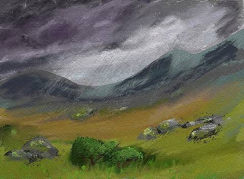 Moorland Rain by Hannah Starrett Wright