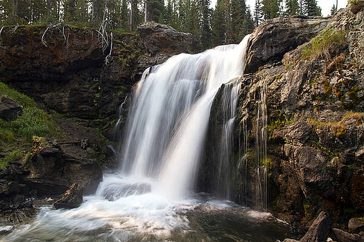Teresa Zieba - Moose Falls Yellowstone National Park