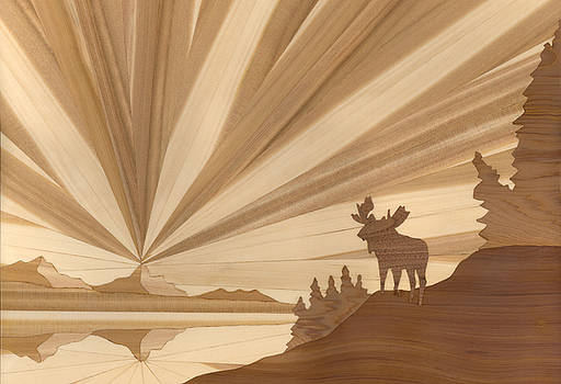 Moose by Glen Stanley