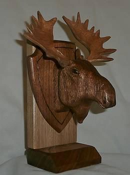 Moose Head by Russell Ellingsworth