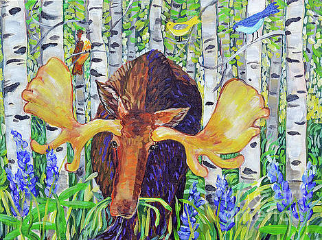 Harriet Peck Taylor - Moose in the Aspen