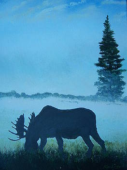 Moose by Ken Day