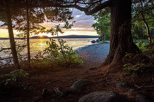 Moosehead Sunset by Brent L Ander