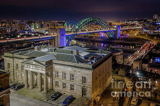 Moot Hall and the River Tyne by Colin Morgan