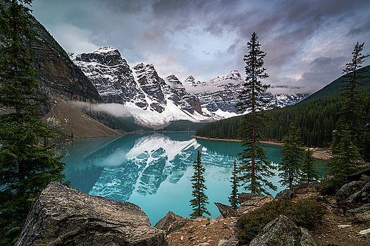 Moraine Lake in the Canadaian Rockies by James Udall