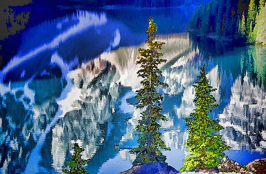 Dennis Cox WorldViews - Moraine Reflections