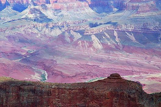 Reimar Gaertner - Moran Point Detail of the Colorado River Grand Canyon