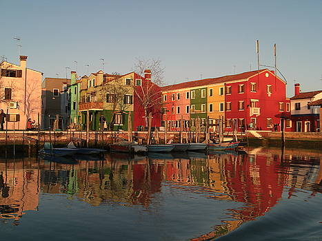 Morano Island in Venice by Paul Jessop
