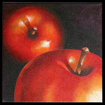 More red Apples by Jose Romero