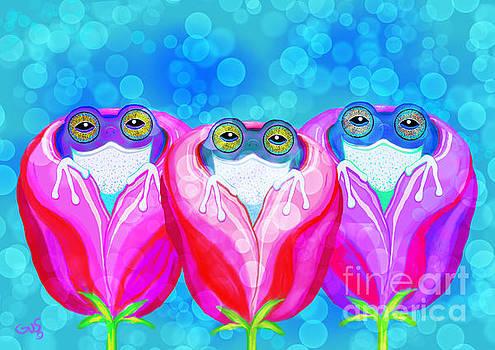 Nick Gustafson - More Rose City Rain Frogs