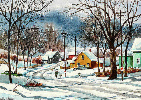 More Snow by Art Scholz
