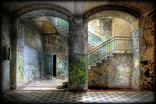 More Stairs and Doors by Steven Coppenbarger
