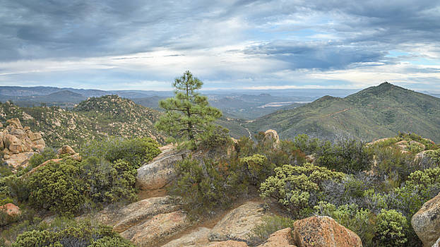 Morena Valley and Los Pinos Mountain by Alexander Kunz