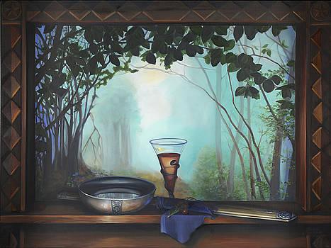 Morgan LeFay - Excalibur by Louise Montillio