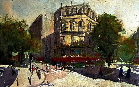 Morning at Au Baroudeur by James Nyika