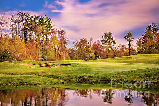 Morning at Brookstone golf course by Claudia M Photography