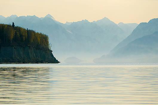 Morning At Knik Alaska by Ron Day
