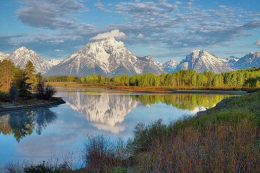 Morning at Oxbow Bend by Joe Paul