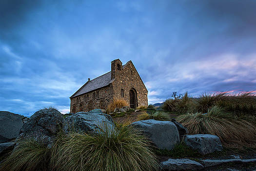 Morning at the Church by Renee Doyle