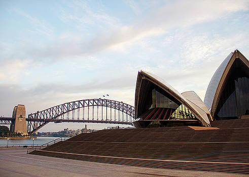 Morning at the Sydney Opera House by Cassandra NightThunder