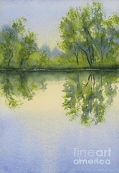 Morning at Turtle Pond by Victoria Lisi