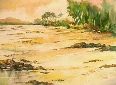 Morning Beach by Sandeep Khedkar