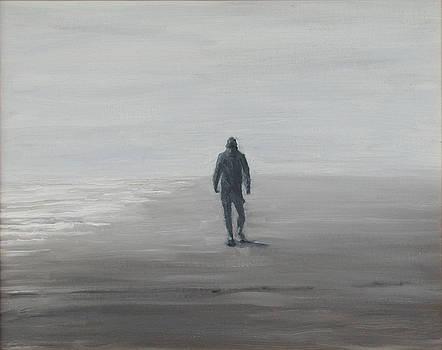 Morning Beachwalker by Thomas Michael Meddaugh