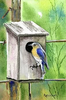 Morning Blue by Marsha Elliott