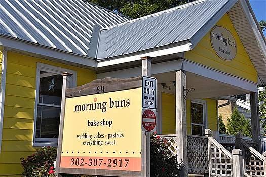 Morning Buns Sign by Kim Bemis