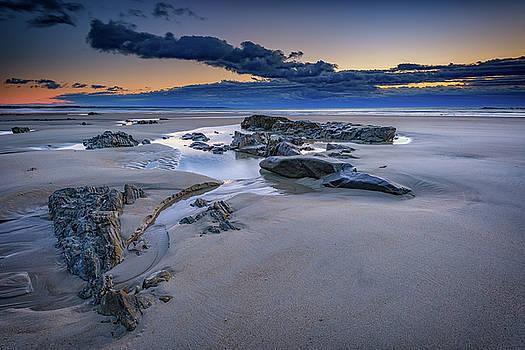 Morning Calm on Wells Beach by Rick Berk