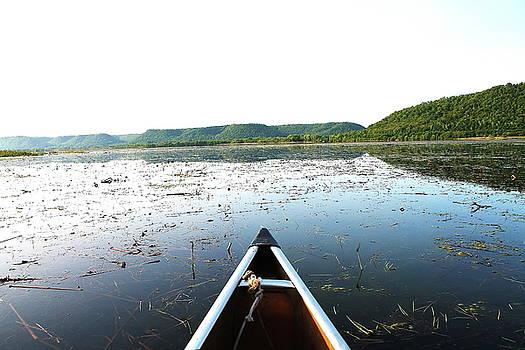 Morning Canoeing  by Bethany Benike