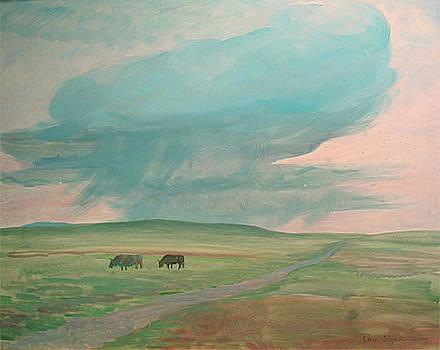 Morning Cloud by Ji-qun Chen