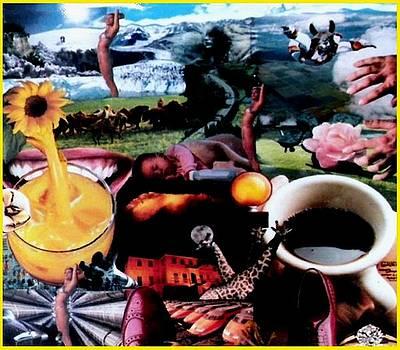 Morning Coffee by Gabe Art Inc