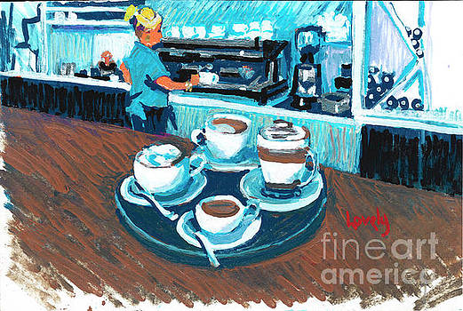 Candace Lovely - Morning Coffees