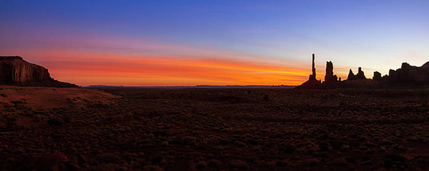 Morning Colors at Monument Valley by Andrew Soundarajan