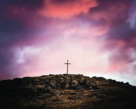 Morning Cross by Debi Bishop