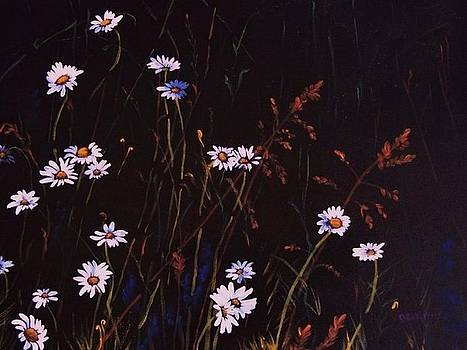 Deahn      Benware - Morning Daisies